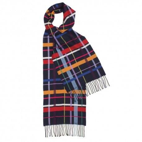 Image of   Multifarvet ternet tørklæde