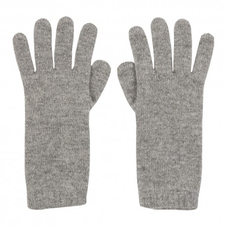 Image of   Grå strikkede cashmere handsker