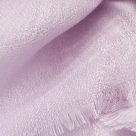 Lavendelfarvet diamant vævet pashmina sjal