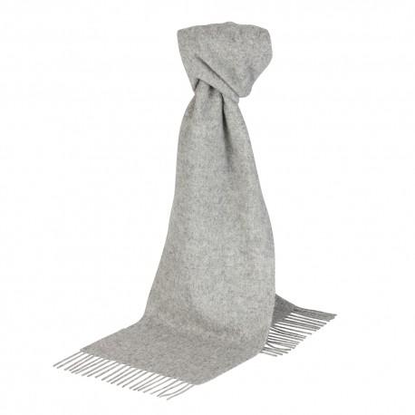 Image of   Lysegråt halstørklæde i lambswool