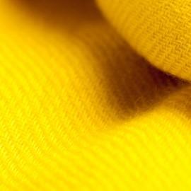 Gult twill vævet pashmina tørklæde