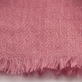 Rødviolet diamant vævet pashmina sjal
