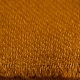 Mørk gyldent twill vævet pashmina tørklæde
