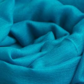 Petroleumsblåt pashminasjal i cashmere og silke