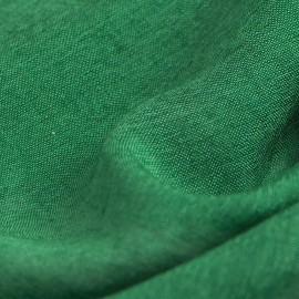 Mørkegrønt pashminasjal i cashmere og silke