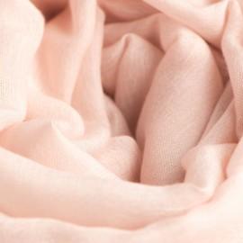 Sart rosa pashminasjal i cashmere og silke