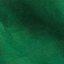 Mørkegrønt jacquard vævet pashmina sjal