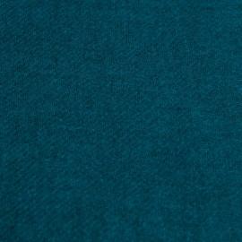 Petroleumsblåt halstørklæde i ren yak uld
