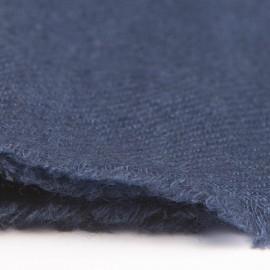 Lille cashmere tørklæde i marineblå