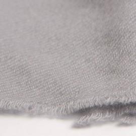 Lille cashmere tørklæde i lysegrå