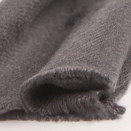 Lille cashmere tørklæde i mørkegrå