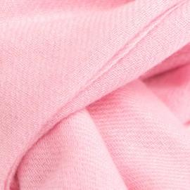 Lys rosa twill vævet pashmina tørklæde