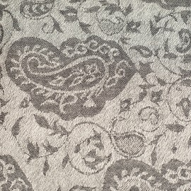 Paisley tørklæde i ren cashmere