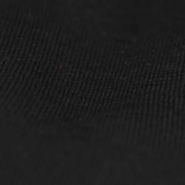 Sort sjal i silke/cashmere strik