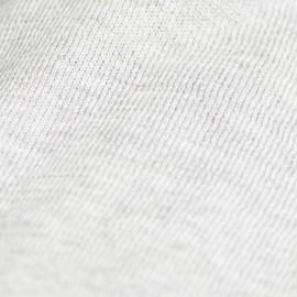 Gråt sjal i silke/cashmere strik