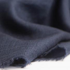 Gult pashmina sjal i lærredsvævning