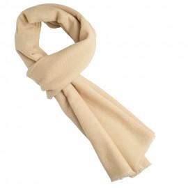 Beige twill vævet pashmina tørklæde