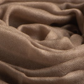 Stort musegråt cashmere sjal 200 x 140 cm