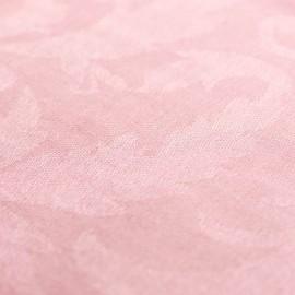 Lys rosa jacquardvævet cashmere sjal