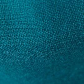 Petroleums blåt pashmina sjal i lærredsvævning