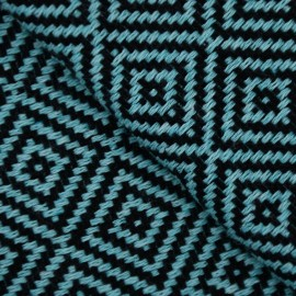 Turkis hammam håndklæde i diamantmønster