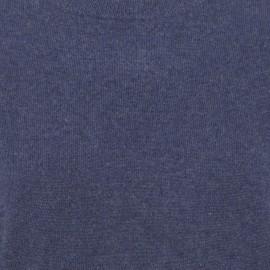 Oversize cashmere sweater i indigo