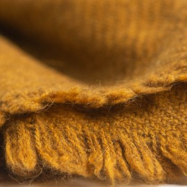 Mørk gyldent yak tørklæde