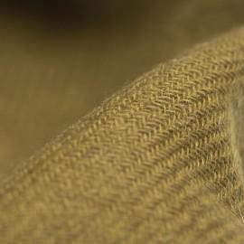 Lille cashmere tørklæde i mørk oliven