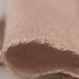 Lille gråbrunt cashmere tørklæde
