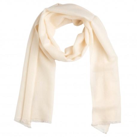 Lille hvidt cashmere tørklæde