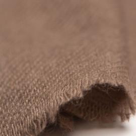 Lille cashmere tørklæde i taupegrå