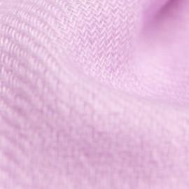 Lille cashmere tørklæde i lavendel