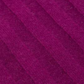 Blommefarvet halstørklæde i cashmerestrik