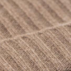 Taupegrå cashmere beanie