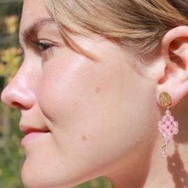 Øreringe rosa