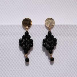 Øreringe sort