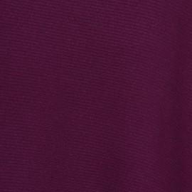 Blommefarvet poncho i ren cashmere