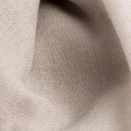 Lysegråt diamant vævet pashmina sjal