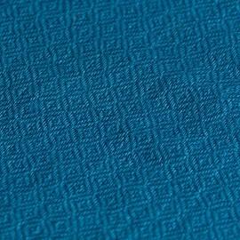 Stålblåt diamant vævet pashmina sjal