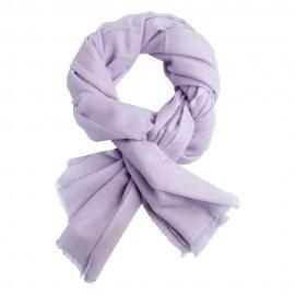 Lavendelfarvet twill vævet pashmina tørklæde