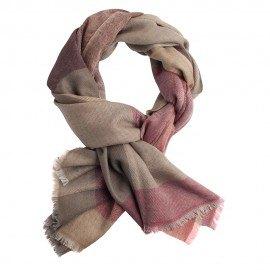 Storternet sjal i uld og cashmere i fire farver