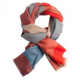 Storternet pashmina sjal i fire farver