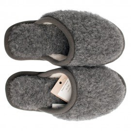 Slippers i uld