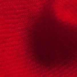 Mørkerødt twill vævet pashmina tørklæde