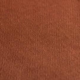 Kastanjebrunt diamant vævet pashmina sjal