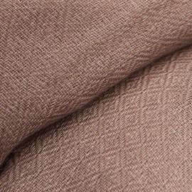Gråbrunt diamant vævet pashmina sjal