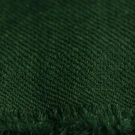 Armygrønt pashmina sjal i 2 ply cashmere