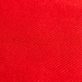 Koralrødt twill vævet pashmina tørklæde