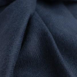 Marineblåt cashmere tørklæde
