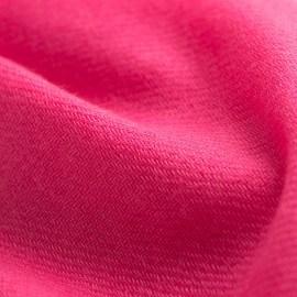 Hindbærrødt cashmere tørklæde